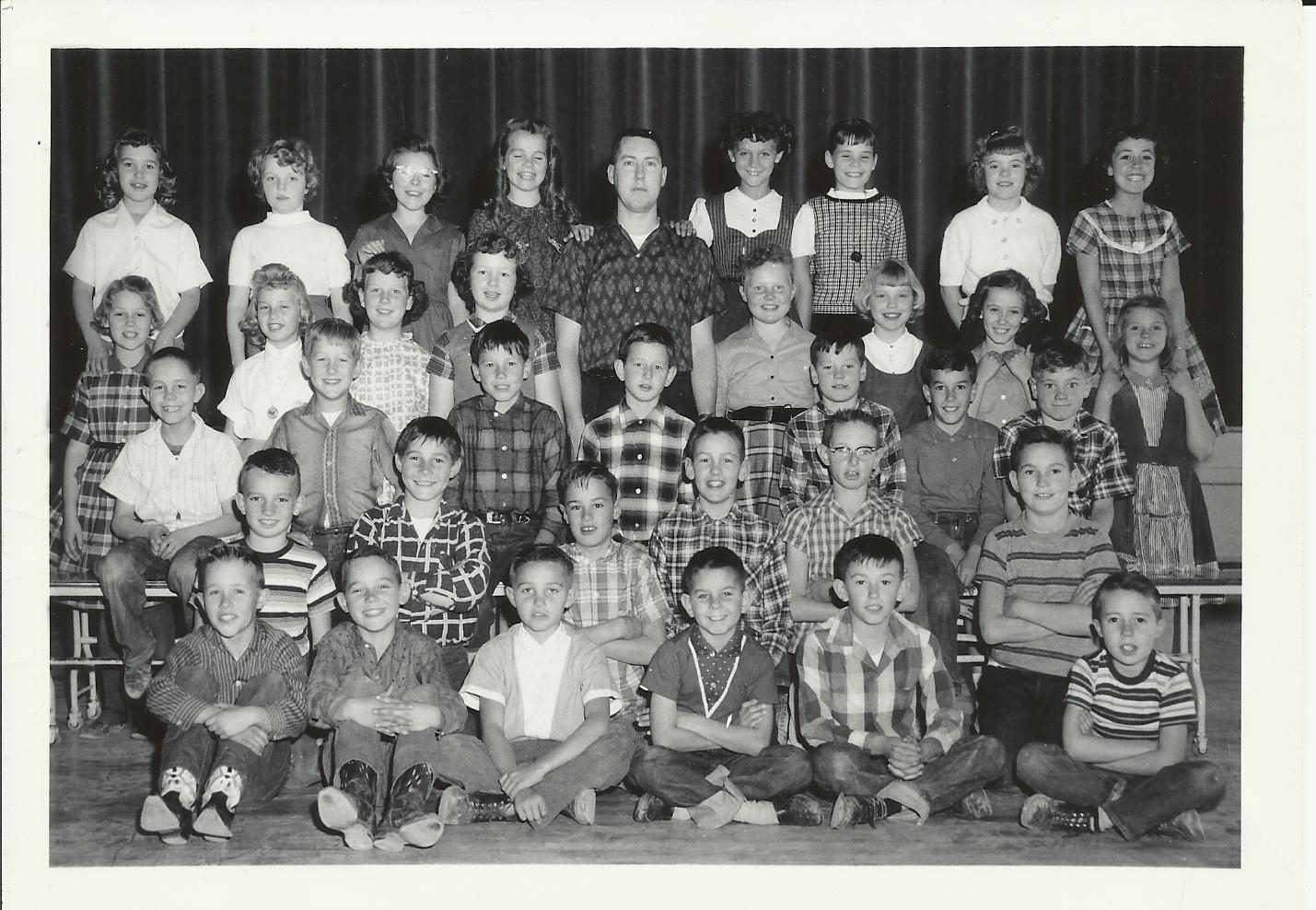 Fourth Grade Class Pic - Mr Atkin East Elem