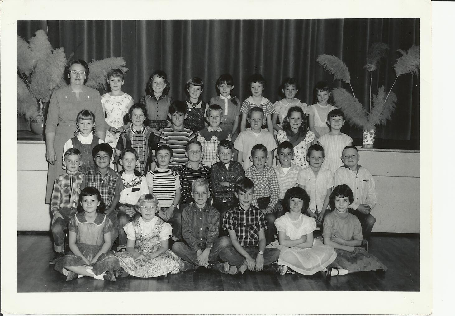 Second Grade Class Pic - Mrs Wells West Elem