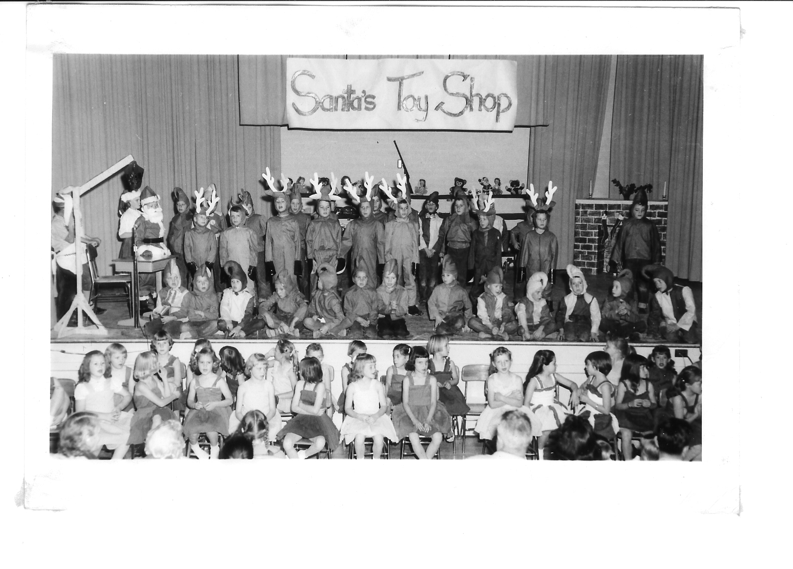 East Elementary Play - Santa's Toy Sop - 1958
